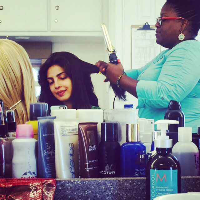 Priyanka Chopra Leading American TV Show Quantico - She also uploaded a picture of the prep before the second day.