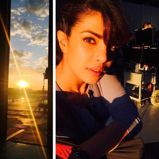 Priyanka Chopra Leading American TV Show Quantico - And a on-set selfies for good measure.