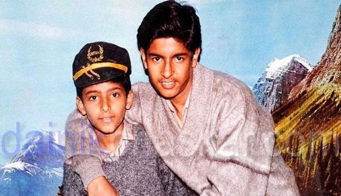 Kapil Sharma with his brother.